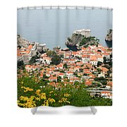 Dubrovnik, The Walled Old City Shower Curtain