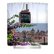 Dubrovniks Cable Car Shower Curtain