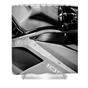 Ducati 1098 Motorcycle -0893bw Shower Curtain
