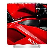 Ducati 1098 Motorcycle -0893c Shower Curtain