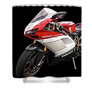 Ducati 1098s Motorcycle Shower Curtain