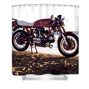 Ducati Shower Curtain