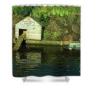 Duckingham Palace  Shower Curtain