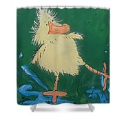 Duckling 2 Shower Curtain