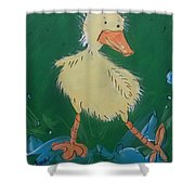 Duckling 3 Shower Curtain