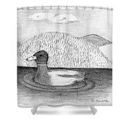 Ducky Shower Curtain