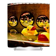 Ducky Reflections Shower Curtain