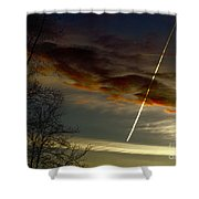 Due East Shower Curtain