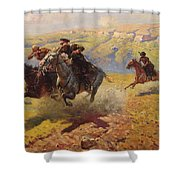 Duel Shower Curtain