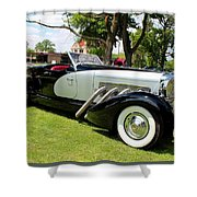 Duesenberg I Shower Curtain