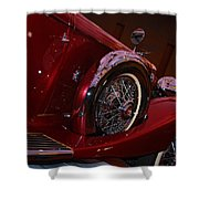 Duesenberg Side View Shower Curtain