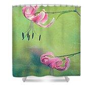 Duet - V01a Shower Curtain