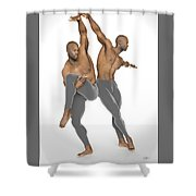 Dueto De Danza Shower Curtain