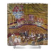 Dufy: Grand Concert, 1948 Shower Curtain