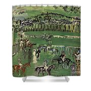 Dufy: Race Track, 1928 Shower Curtain
