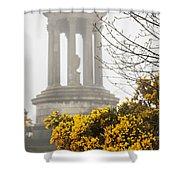 Dugald Stewart Monument Shower Curtain
