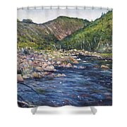 Duivenhoks Dam Heidelberg South Africa 2016 Shower Curtain