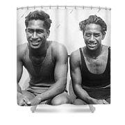Duke And Sam Kahanamoku Shower Curtain
