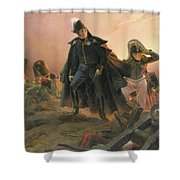 Duke Of Angouleme At The Capture Of Trocadero Shower Curtain