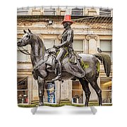 Duke Of Wellington Statue Shower Curtain