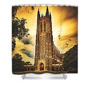 Duke University Chapel At Dusk Shower Curtain