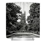 Duke University Chapel Shower Curtain