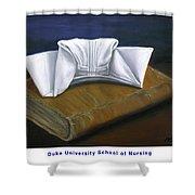 Duke University School Of Nursing Shower Curtain