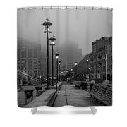Fog In Boston Shower Curtain