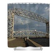 Duluth Lift Bridge 2 Shower Curtain