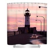 Duluth Sunrise Shower Curtain