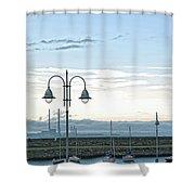 Dun Laoghaire 2 Shower Curtain