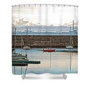 Dun Laoghaire 5 Shower Curtain