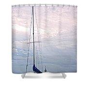 Dun Laoghaire 6 Shower Curtain