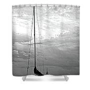 Dun Laoghaire 7 Shower Curtain