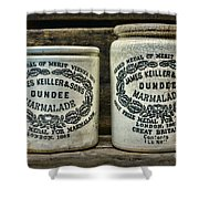 Dundee Marmalade Country Kitchen  Shower Curtain