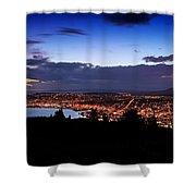 Dunedin By Dusk Shower Curtain