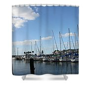 Dunedin Marina I Shower Curtain