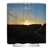 Dunes A Blaze 3 412 Shower Curtain