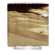 Dunes And Peak Shower Curtain