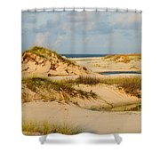Dunes At Gulf Shore Shower Curtain