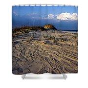 Dunes At St. Simons Island Shower Curtain