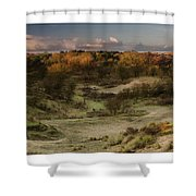 Dunes At Sunrise Shower Curtain