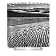 Dunes Details Shower Curtain