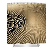 Dunes Footprints Shower Curtain