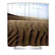 Dunes Of Alaska Shower Curtain