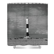 Dungeness Lighthosue Shower Curtain
