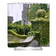 Dungeness Ruins Shower Curtain