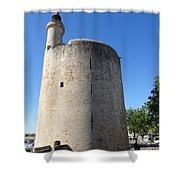 Dungeon In Aigues Morte Shower Curtain