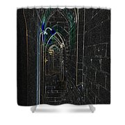 Dungeon Passage Shower Curtain