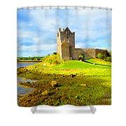 Dunguaire Castle Shower Curtain